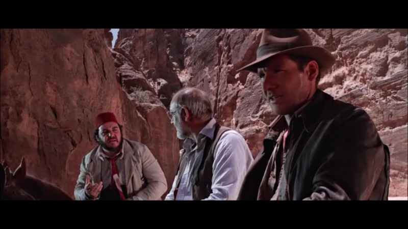Финал фильма Индиана Джонс и последний крестовый поход