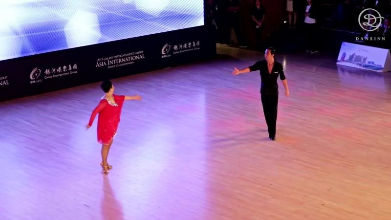 Rong Rong and Michael Malitowski Pro Am showcase - Asia International 2015