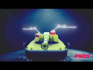 FNSS - Kaplan Pars Семья Бронированный автомобиль Simulation [1080p]