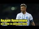 Всі голи Андрія Ярмоленка за Динамо Київ