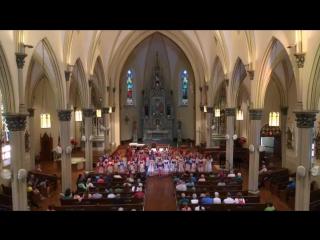 Концерт в церкви Святого Франциска Ксаверия, г. Петоски, штат Мичиган,США