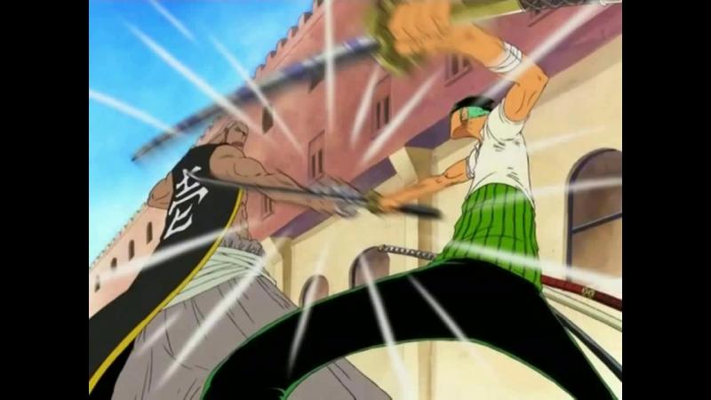 One Piece: Zoro VS Mr. 1 AMV