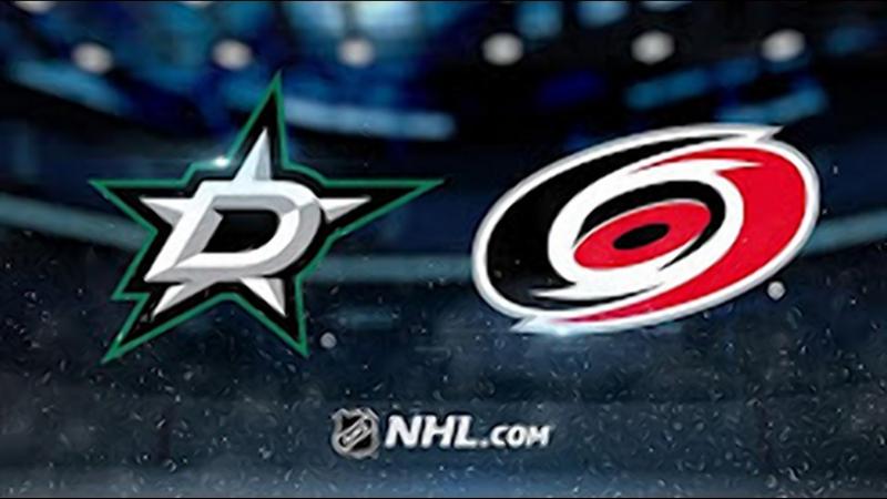 НХЛ - регулярный чемпионат. Каролина Харрикейнз - Даллас Старз - 5:1 (1:0, 0:1, 4:0)