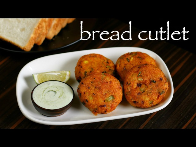 Bread cutlet recipe | how to make crunchy vegetable bread cutlets recipe