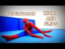 SPIDERWOMAN 2017/ CRAZY FLIPS AND KICKS