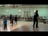 DANCE WITH WOLVES Line Dance Demo &amp Walk Thru by Choreographer Ira Weisburd
