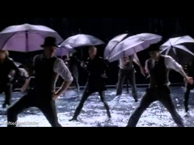 GLEE - Singing In The Rain/Umbrella (Full Performance) (Official Music Video)