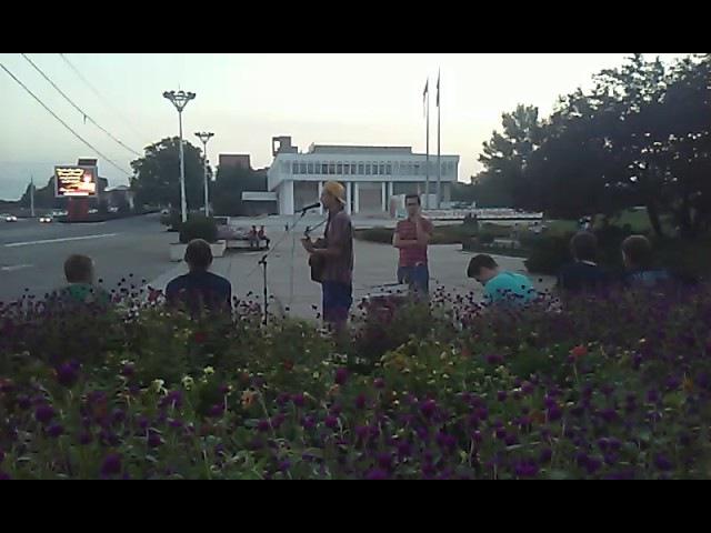 Уличные музыканты Тирасполь 4 августа 2017г.