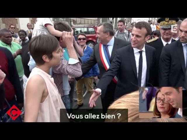 Emmanuel Macron se prend un énorme vent - ZAPPING ACTU DU 11/05/2016