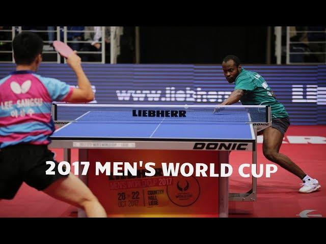 LEE Sangsu 이상수 vs ARUNA Quadri | Group Stage | 2017 Men's World Cup