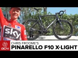 Chris Froome's Pinarello Dogma F10 X-Light  La Vuelta A Espa
