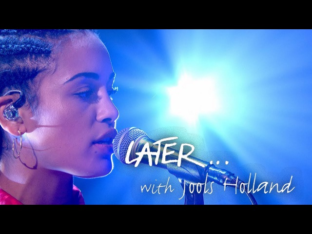 Jorja Smith - Blue Lights - Later… with Jools Holland - BBC Two