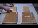 How to make a Sketchbook out of wood