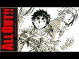 All Out!! ED 1 [Zenryoku Shounen] (Jackie-O Russian Full-Version)