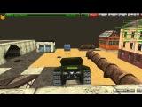Tanki Online - Игра на карте лунная тишина