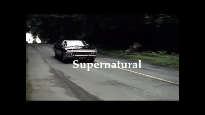 Supernatural Opening Credits (gilmore girls style)