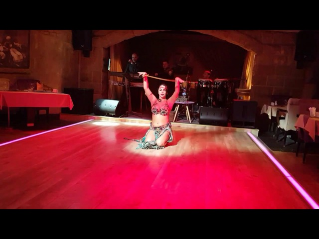 Aziza Belly dance in Dubai. Movenpik hotel