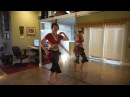 Tribal Belly Dance Drill Arabic Hip Twist and Turkish Shimmy