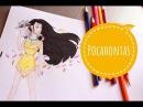 Рисуем Покахонтас| Pocahontas