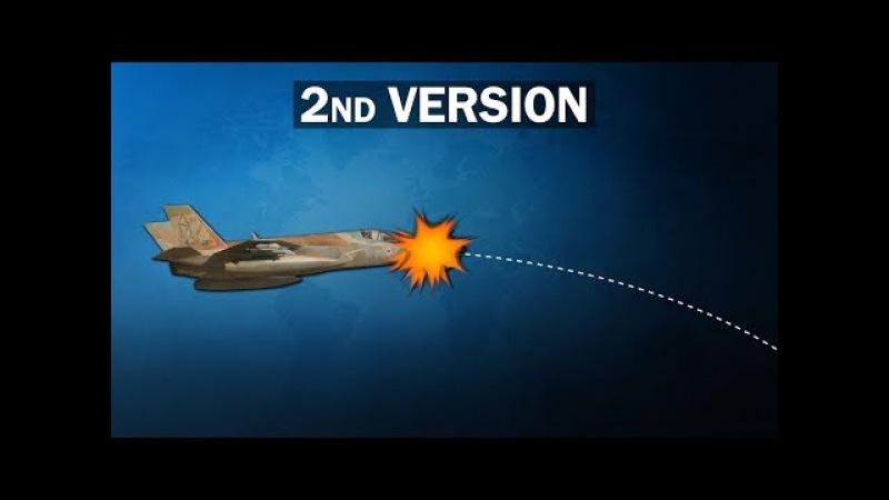 Возле границы с Сирией поврежден израильский F-35. Работа сирийских ПВО или столк ...