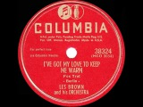 1949 HITS ARCHIVE I've Got My Love To Keep Me Warm - Les Brown (his original #1 version)