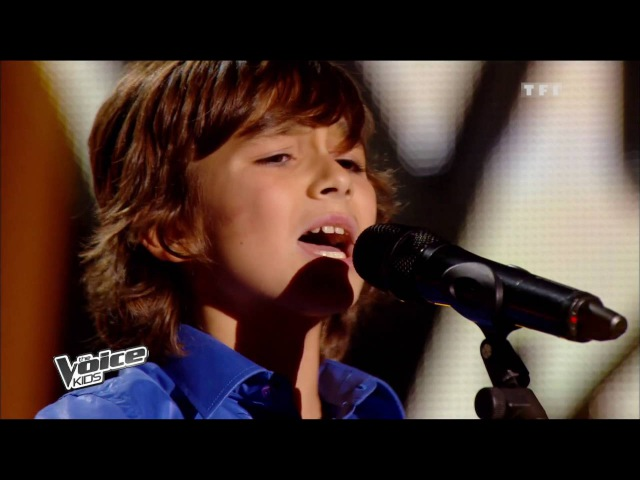 The Voice Kids 2014 | Esteban - Historia de un amor (Carlos Eleta Almaran) | Blind Audition