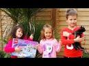 В гостях у Мисс Кейти Дарим подарки Мисс Кейти и Мистеру Максу от Алис и от канал ...