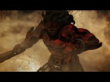 FateStay Night UBW - Gilgamesh vs Berserker 60FPS