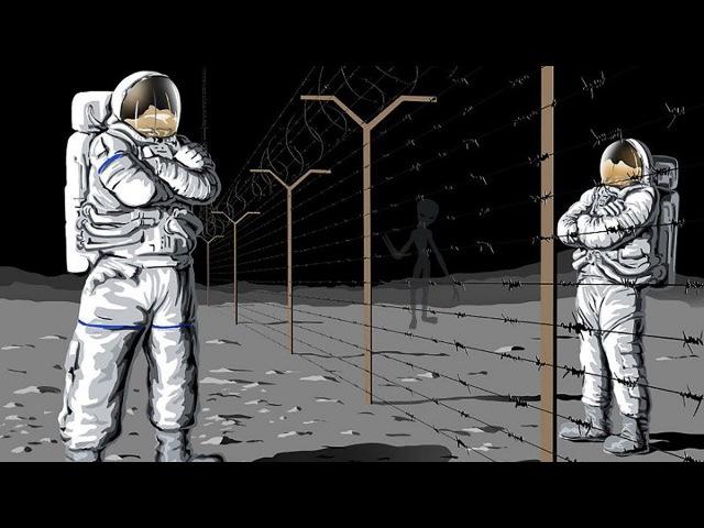 ЛУНА - ПЛАЦДАРМ СЕРЫХ. Миссии АПОЛЛОН. Глобальная иллюзия превосходства.