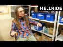 «Почему дреды?» Интервью с самым дружелюбным работником Hellride