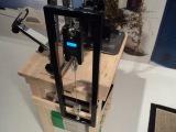 DIY spoke tension meter calibrating device.