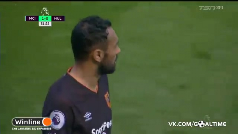 ГолТВ рф Манчестер Сити Халл 3 1 Обзор матча Англия Премьер лига