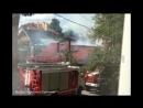 В ходе ремонта крыши частного дома на ул. Комарова начался пожар