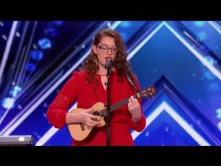 Вдохновляющее выступление глухой девушки на шоу-талантов