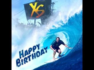 День рождения у Дэвида Вандервина, сооснователя и вице-президента XS