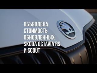 Skoda Octavia RS и Scout