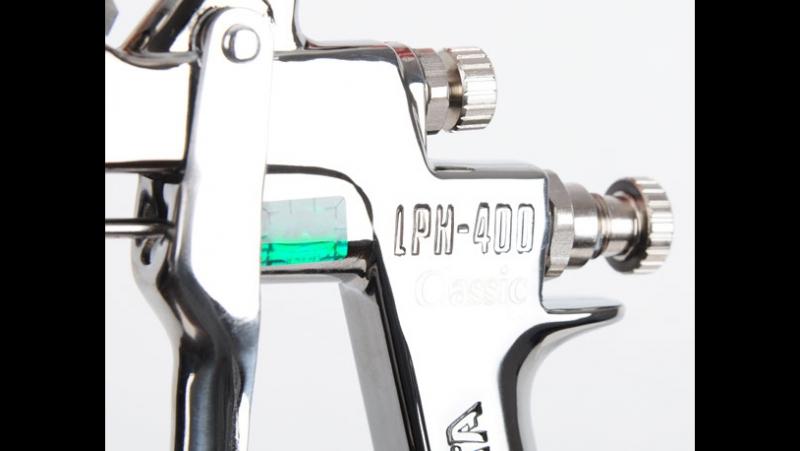Покраска деталей iwata LPH-400-144 LV4