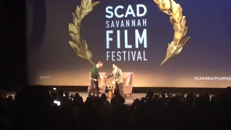 Welcome to SCAD SAVFF, RobertPattinson!