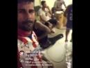 Диего Коста снимал прямой эфир в Instagram в футболке любимой команды