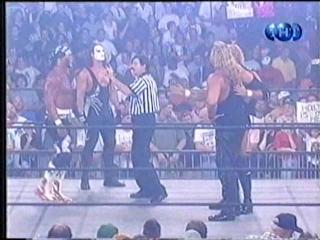 Nitro 07-26-99 - Hollywood Hogan and Sting vs. Kevin Nash and Sid Vicious