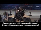 Владимир Соловьев о митингах 12 июня. Два процента дерьма