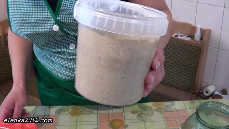 Закваска для хлеба без дрожжей ...
