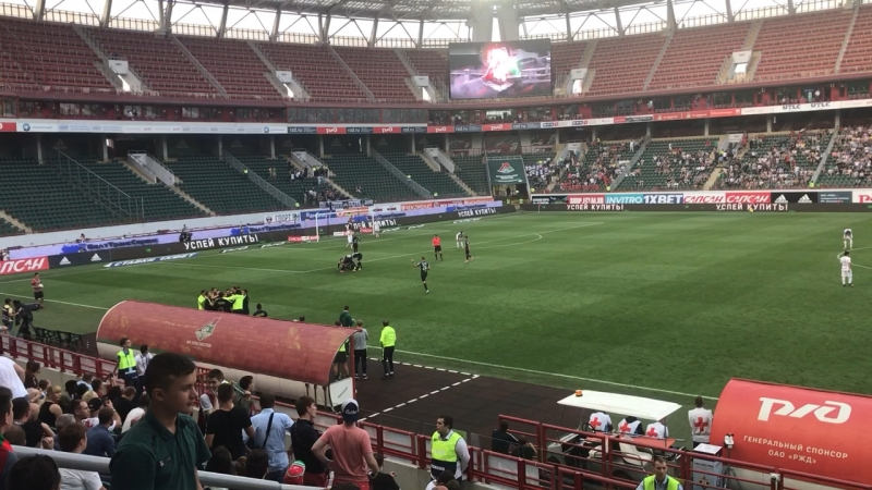 Локомотив 0 - 2 Тосно (13.08.17 г.)