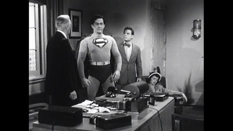 Атомный человек против Супермена. 1950. 13 серия