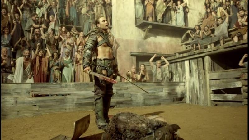 Спартак: Боги арены ( 2011 ) Ганник на Арене.