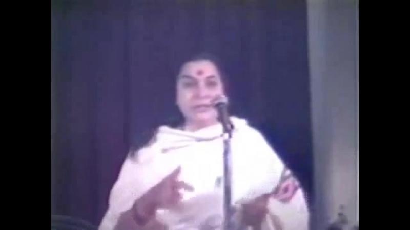 1981 04 03 Лекция Матери Шри Сахасрара Чакра ч 2