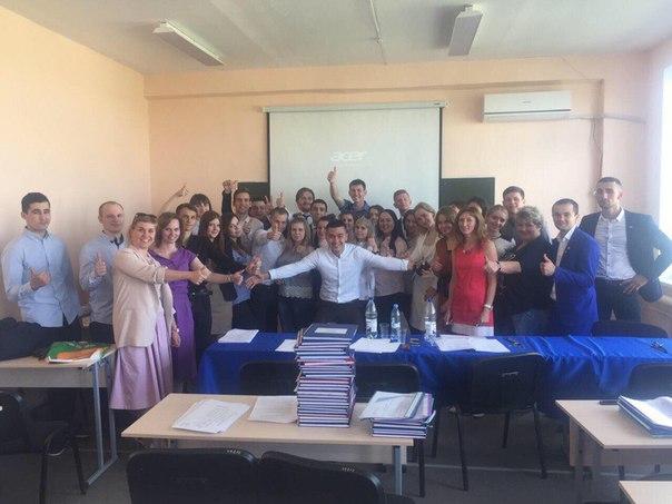 📎📌📍Настал долгожданный день💼📈Студенты 4 курса кафедры 'Финансы и кре
