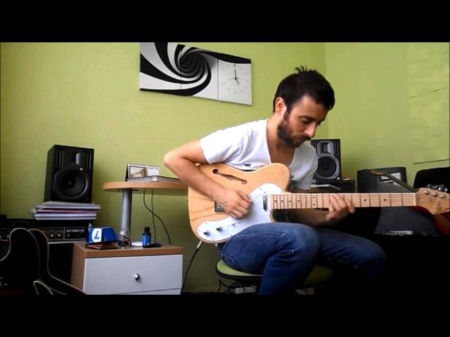 Jazz-Fusion Scofield Style - SX Telecaster Thinline Ash Demo