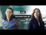 Loki and Black Widow - Everybody loves me ( Ragnarok scenes)