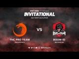 TNC Pro Team против Boom-ID, Первая карта, SEA квалификация SL i-League Invitational S3